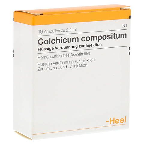 COLCHICUM COMPOSITUM Ampullen 10 Stück N1