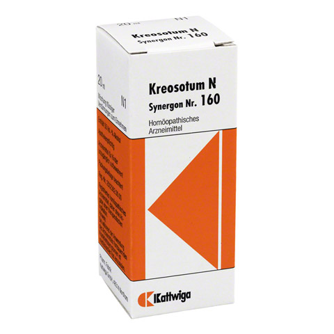 SYNERGON KOMPLEX 160 Kreosotum N Tropfen 20 Milliliter