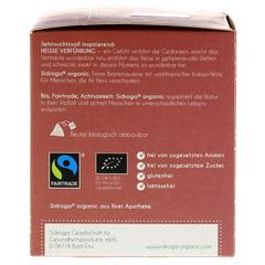 SIDROGA organic hei�e Verf�hrung Filterbeutel 12 St�ck - Linke Seite