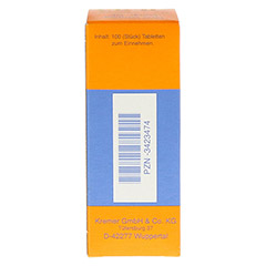 NUX VOMICA COMP.SE Tabletten 100 St�ck N1 - R�ckseite
