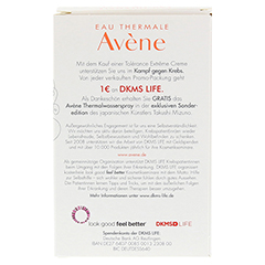 AVENE Tolerance Extreme Creme+Th.Spray 50ml Gratis 1 Packung - R�ckseite