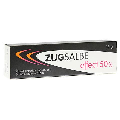 ZUGSALBE effect 50% Salbe 15 Gramm