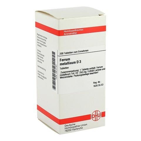 FERRUM METALLICUM D 3 Tabletten 200 Stück N2