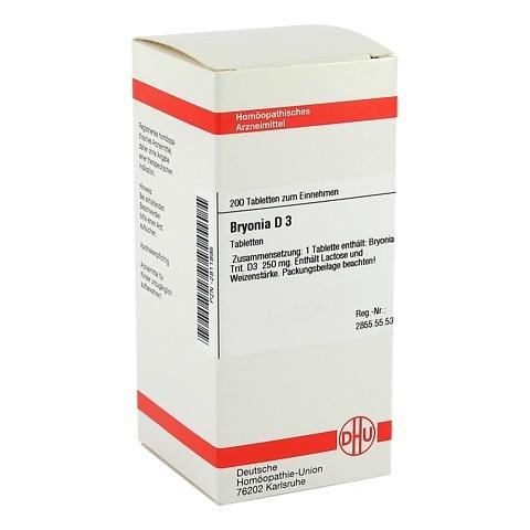 BRYONIA D 3 Tabletten 200 Stück N2