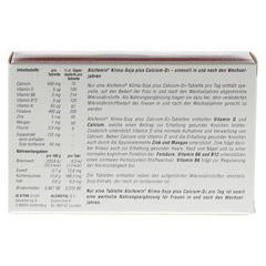 ALSIFEMIN Klima-Soja plus Calcium D3 Tabletten 60 Stück - Rückseite
