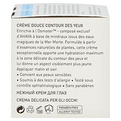 Ahava Gentle Eye Cream 15 Milliliter - Linke Seite