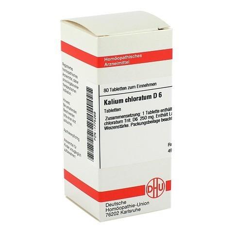 KALIUM CHLORATUM D 6 Tabletten 80 Stück N1