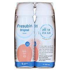 FRESUBIN ORIGINAL DRINK Pfirsich Trinkflasche 4x200 Milliliter - Linke Seite