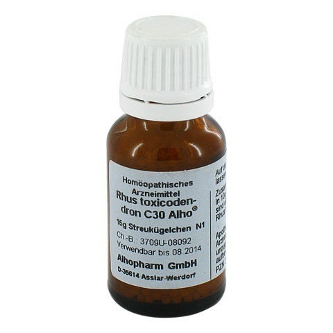 RHUS TOXICODENDRON C 30 Globuli 15 Gramm N1