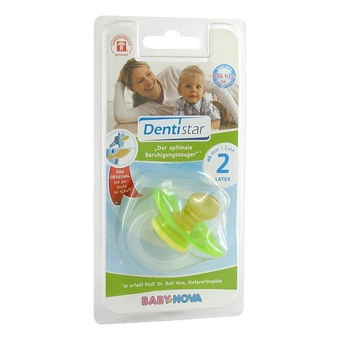 DENTISTAR BS Latex mit Ring Babys mit Zähnen 1 Stück