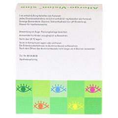 Allergo-Vision sine 0,25mg/ml Augentropfen 50x0.4 Milliliter N3 - R�ckseite