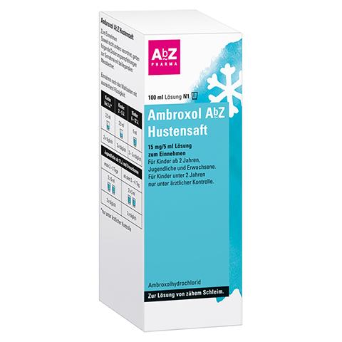 Ambroxol AbZ Hustensaft 100 Milliliter N1
