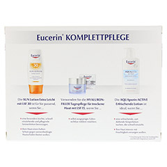 EUCERIN Set Pflege-Favoriten Komplettpflege 1 Packung - Rückseite