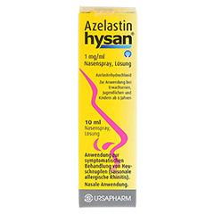 Azelastin hysan 1mg/ml 10 Milliliter N1 - Vorderseite