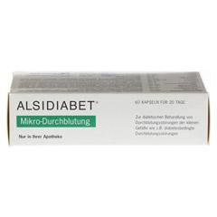 ALSIDIABET Diabetiker Mikro Durchblutung Kapseln 60 Stück - Rechte Seite