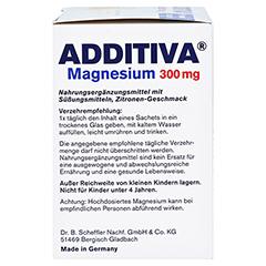 ADDITIVA Magnesium 300 mg N Pulver 20 St�ck - Rechte Seite