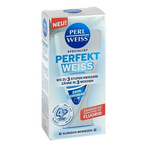 PERLWEISS Perfekt Weiss Zahncreme 50 Milliliter