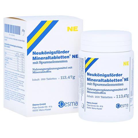 NEUKÖNIGSFÖRDER Mineraltabletten NE 200 Stück