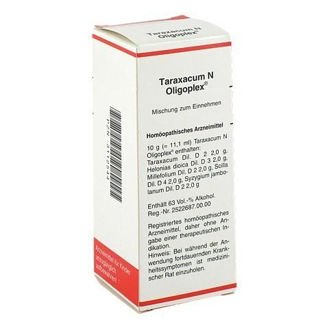 TARAXACUM N Oligoplex Liquidum 50 Milliliter N1