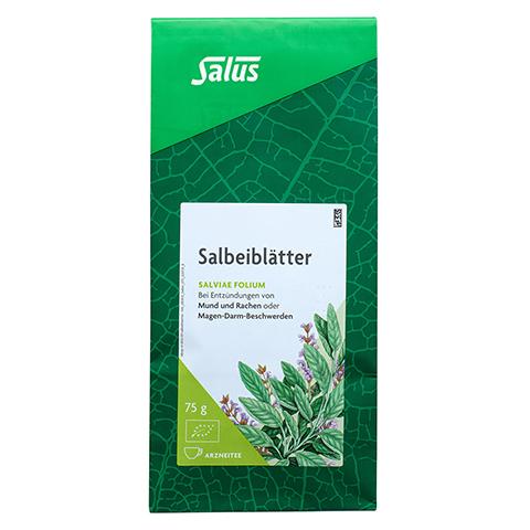 SALBEIBLÄTTER Arzneitee Salviae folium Bio Salus 75 Gramm