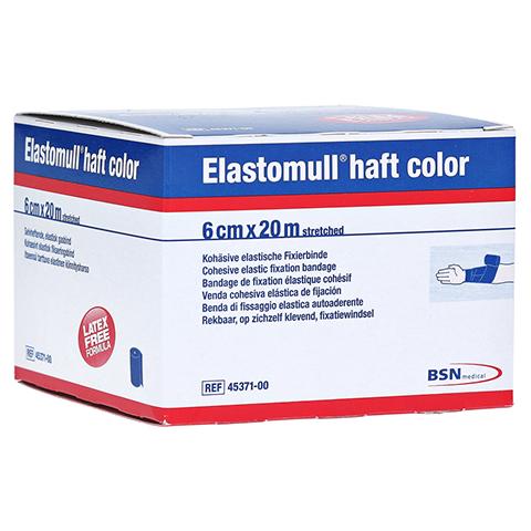 ELASTOMULL haft color 6 cmx20 m Fixierb.blau 1 Stück