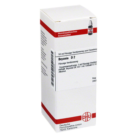 BRYONIA D 2 Dilution 50 Milliliter N1