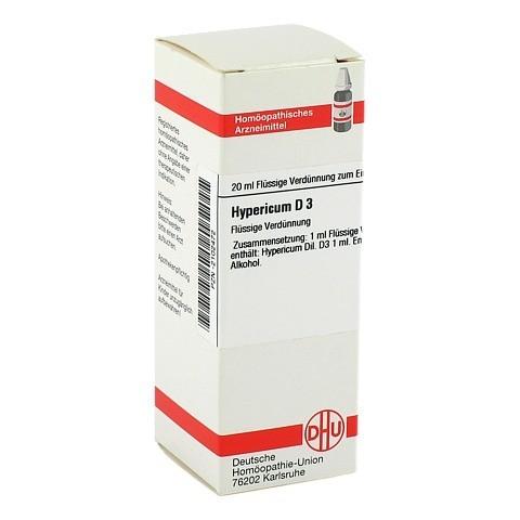 HYPERICUM D 3 Dilution 20 Milliliter N1