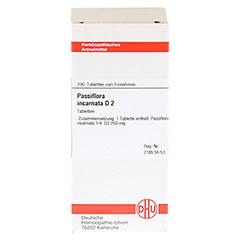 PASSIFLORA INCARNATA D 2 Tabletten 200 Stück N2 - Vorderseite