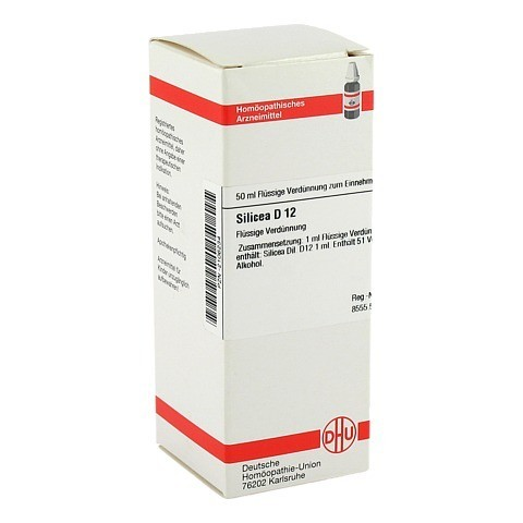 SILICEA D 12 Dilution 50 Milliliter N1