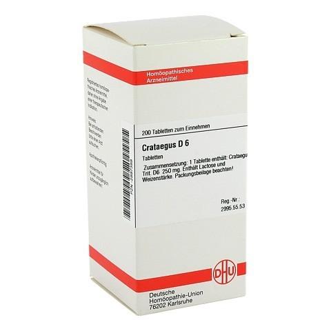CRATAEGUS D 6 Tabletten 200 Stück N2