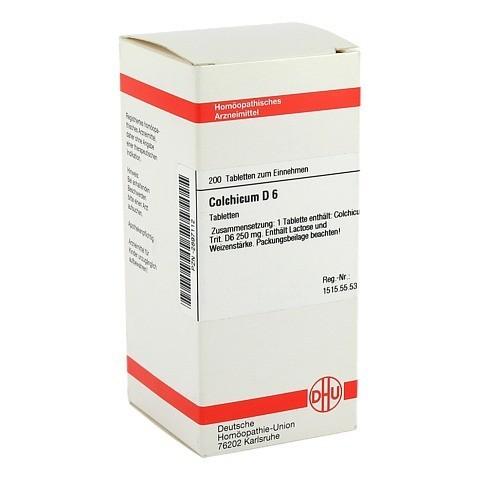 COLCHICUM D 6 Tabletten 200 St�ck N2