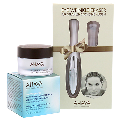 AGE CONTROL Brightening Eye Cream + gratis Ahava Eye Wrinkle Eraser 15 Milliliter