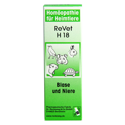 REVET H 18 Globuli f.Heimtiere 10 Gramm