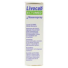 LIVOCAB ECTOMED Nasenspray 10 Milliliter - Linke Seite
