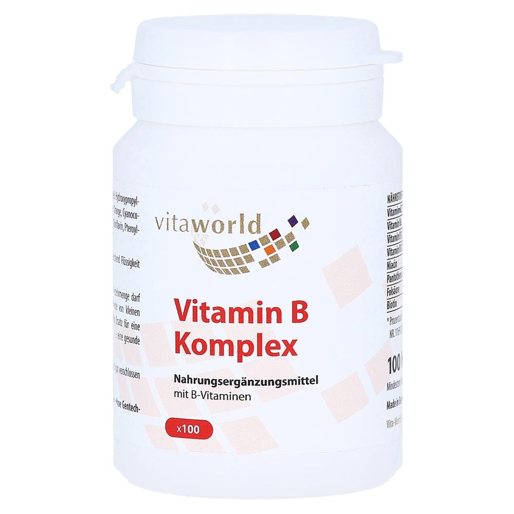 vitamin b komplex kapseln 100 st ck online bestellen. Black Bedroom Furniture Sets. Home Design Ideas