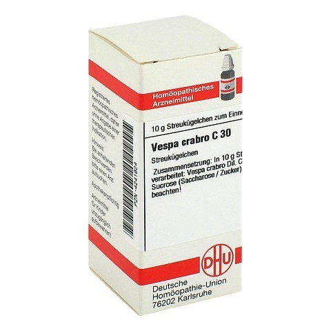 VESPA CRABRO C 30 Globuli 10 Gramm N1