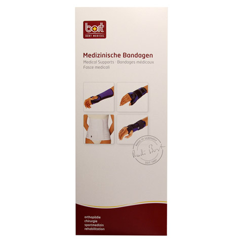 BORT Arm Handgel.Schiene links medium haut 1 St�ck