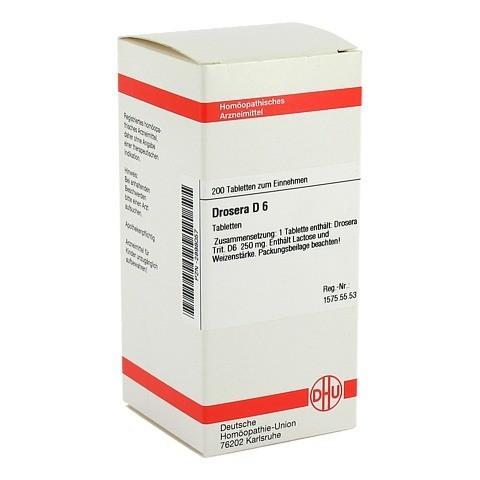 DROSERA D 6 Tabletten 200 Stück N2