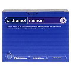 ORTHOMOL nemuri Granulat 30 Stück - Vorderseite