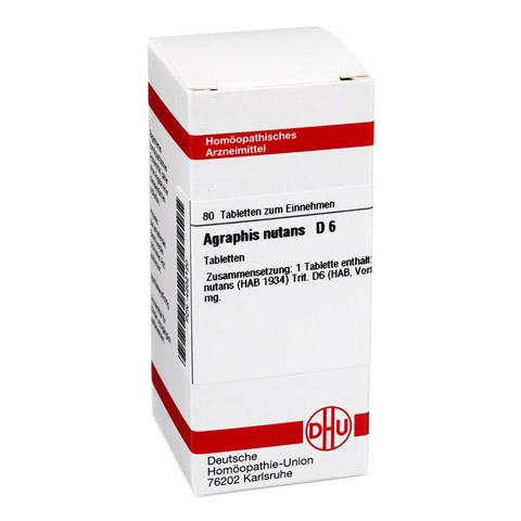 AGRAPHIS nutans D 6 Tabletten 80 St�ck N1