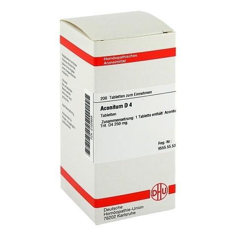 ACONITUM D 4 Tabletten 200 Stück N2