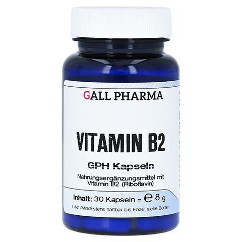 VITAMIN B2 GPH 1,6 mg Kapseln 30 St�ck