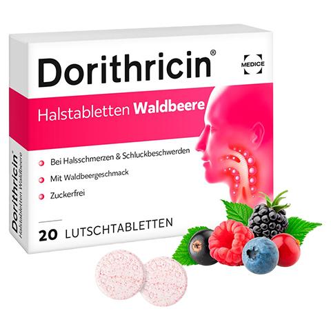 Dorithricin Halstabletten Waldbeere 0,5mg/1,0mg/1,5mg 20 St�ck N1