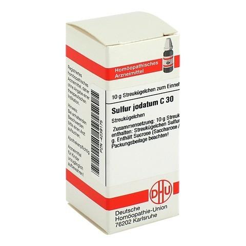 SULFUR JODATUM C 30 Globuli 10 Gramm N1