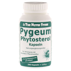 PYGEUM Phytosterol vegetarisch Kapseln 200 St�ck