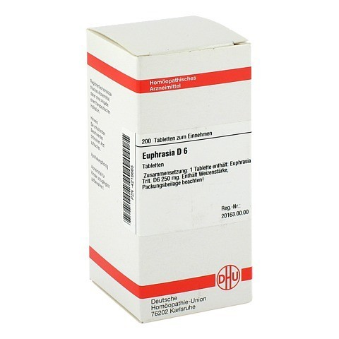 EUPHRASIA D 6 Tabletten 200 Stück N2