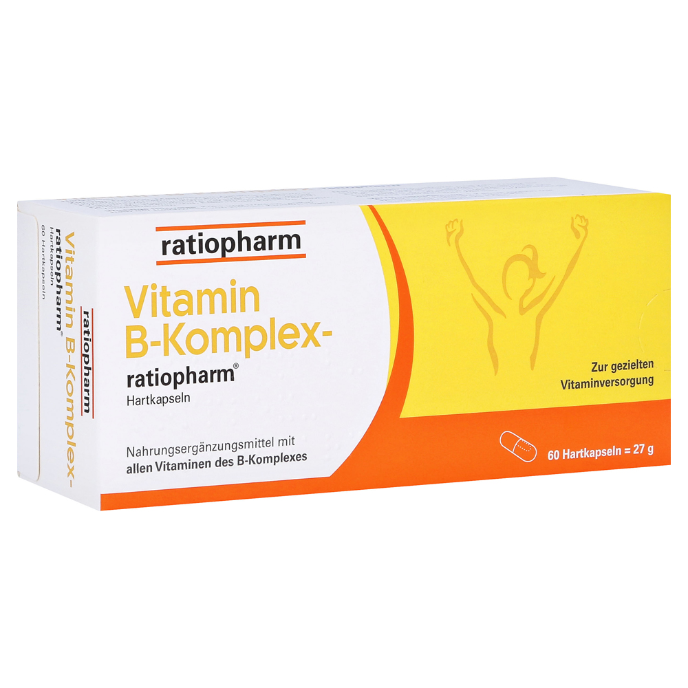 vitamin b komplex ratiopharm kapseln 60 st ck online. Black Bedroom Furniture Sets. Home Design Ideas