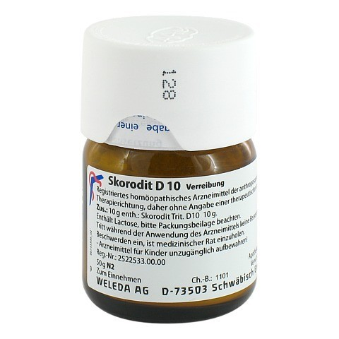 SKORODIT D 10 Trituration 50 Gramm N2