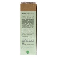 BASENTEE 49 Kräuter Bio Filterbeutel 25 Stück - Rechte Seite