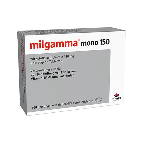 MILGAMMA mono 150 �berzogene Tabletten 100 St�ck N3